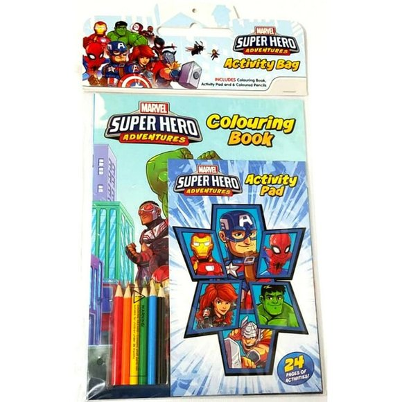 Marvel Superhero Adventures Activity Bag Paperback